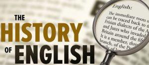 تاریخچه زبان انگلیسی