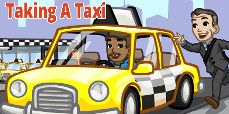 اصطلاحات در تاکسی