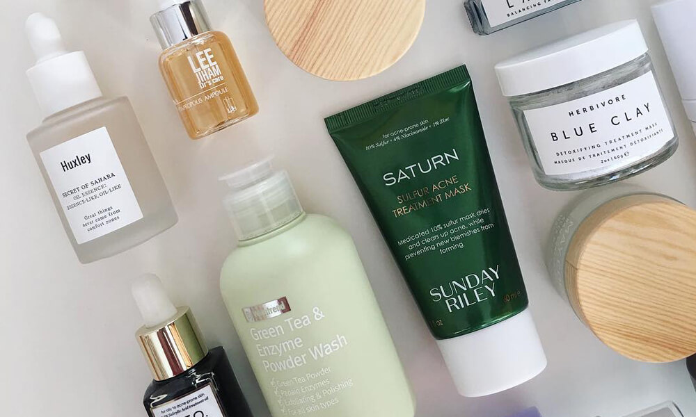 Makeup, Lotion, and Skin Care